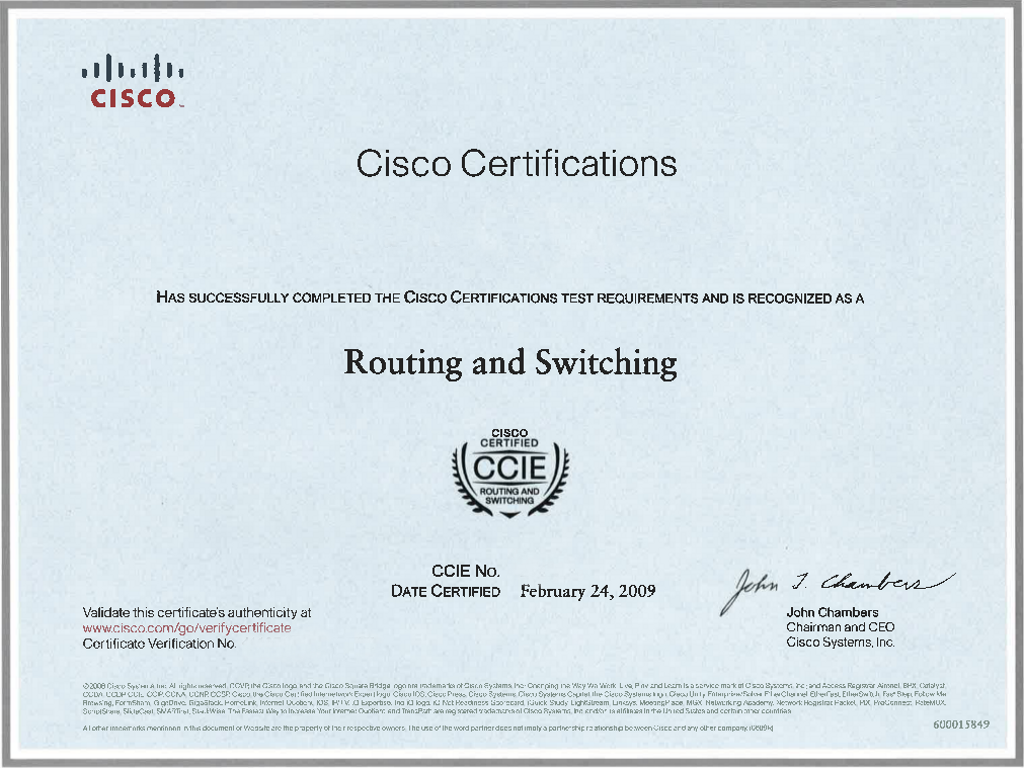 How to Become Cisco CCIE Routing & Switching Certified?